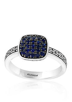 Effy Sapphire Pave Ring in Sterling Silver