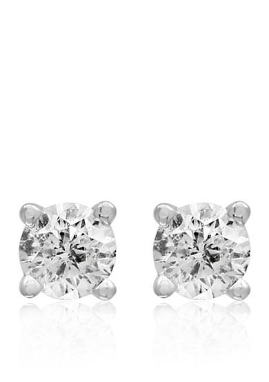 Effy® 1/8 ct. t.w. Classic Diamond Stud Earrings in 14K White Gold