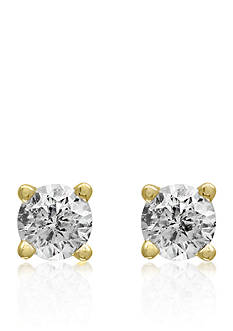 Effy 1/6 ct. t.w. Classic Diamond Stud Earrings in 14K Yellow Gold