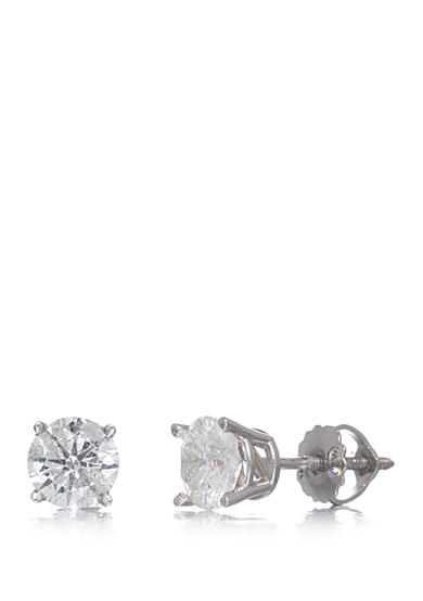 Effy® 1.00 ct. t.w. Classic Diamond Stud Earrings in 14K White Gold