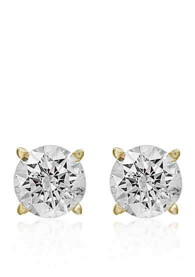 Effy® 1.00 ct. t.w. Classic Diamond Stud Earrings in 14K Yellow Gold