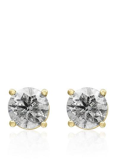 Effy® 2.00 ct. t.w. Classic Diamond Studs in 14K Yellow Gold