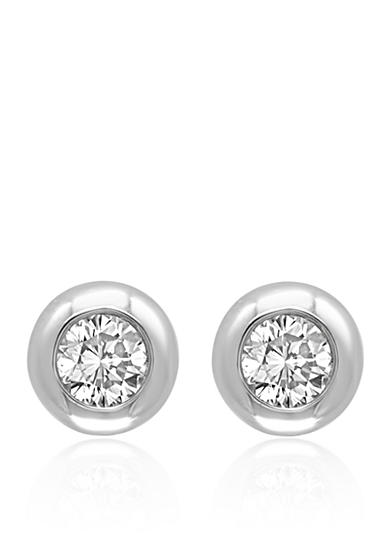 Effy® 0.39 ct. t.w. Diamond Stud Earrings in 14K White Gold
