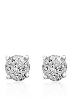 Effy 1/2 ct. t.w. Premier Diamond Stud Earrings in 14K White Gold