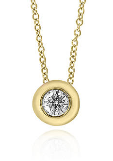 Effy Diamond Pendant Necklace in 14K Yellow Gold