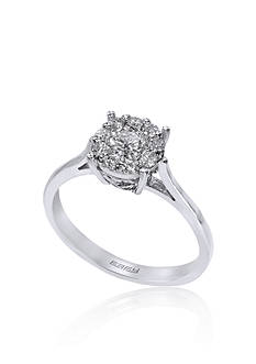 Effy 0.51 ct. t.w. Diamond Cluster Ring in 14K White Gold