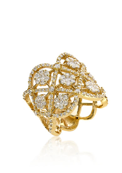 Effy® Diamond Ring in 14K Yellow Gold