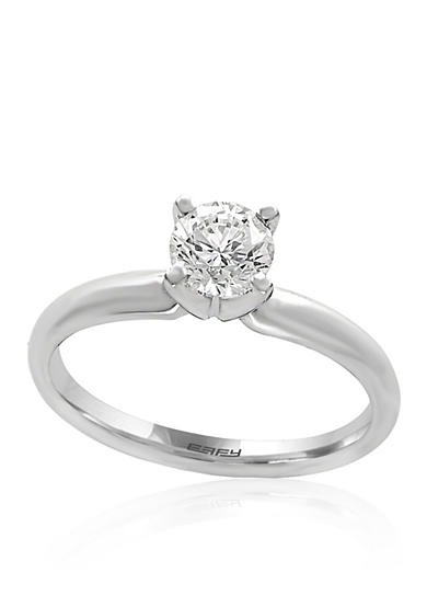 Effy® 0.75 ct. t.w. Diamond Solitaire Ring in 14K White Gold