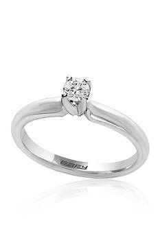 Effy 0.20 ct. t.w. Diamond Solitaire Ring in 14K White Gold
