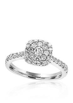 Effy 0.70 ct. t.w. Diamond Square Cluster Ring in 14K White Gold