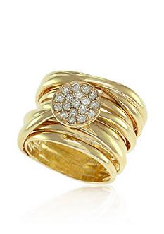 Effy 0.33 ct. t.w. Diamond Ring 14K Yellow Gold