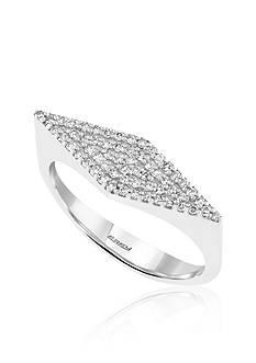 Effy 0.24 ct. t.w. Diamond Geometric Ring in 14K White Gold
