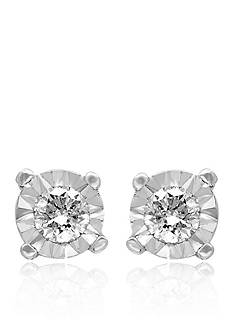Effy 0.25 ct. t.w. Diamond Stud Earrings in Sterling Silver