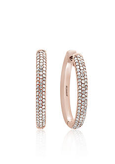 Effy 0.45 ct. t.w. Diamond Hoop Earrings in 14K Rose Gold