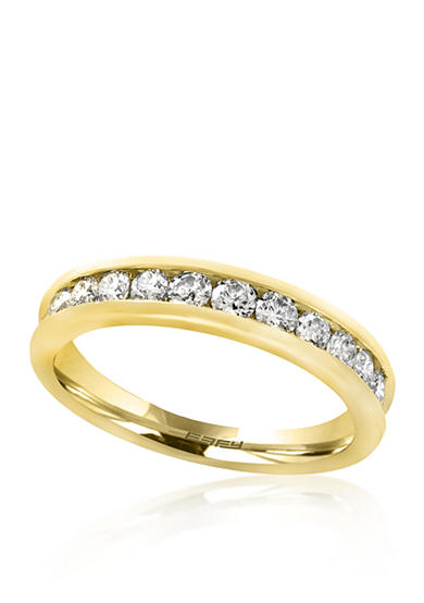 Effy® 0.25 ct. t.w. Diamond Band in 14K Yellow Gold