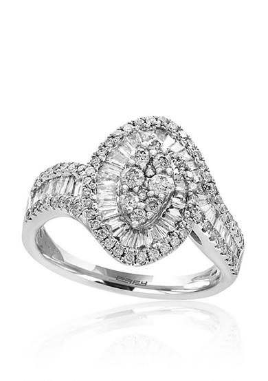 Effy® 1.03 ct. t.w. Diamond Ring in 14K White Gold