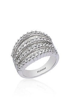 Effy 1.47 ct. t.w. Baguette Diamond Ring in 14K White Gold