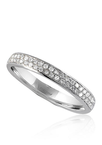 Effy® 0.19 ct. t.w. Diamond Band in 14K White Gold