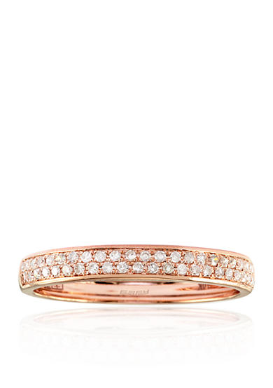 Effy® 0.19 ct. t.w. Diamond Band in 14K Rose Gold