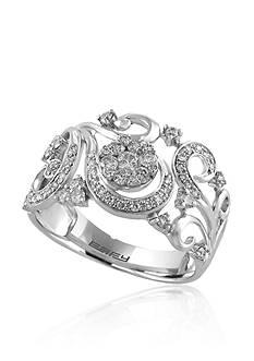 Effy 0.53 ct. t.w. Diamond Cluster Ring in 14K White Gold