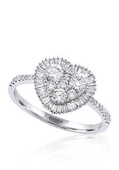 Effy 0.75 ct. t.w. Diamond Heart Ring in 14K White Gold