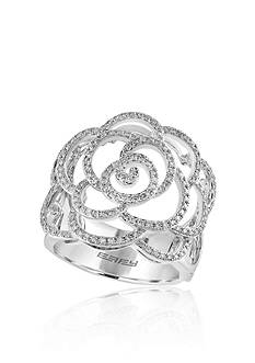 Effy 0.64 ct. t.w. Diamond Rose Ring in 14K White Gold