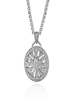 Effy Diamond Pendant Necklace in 14K White Gold