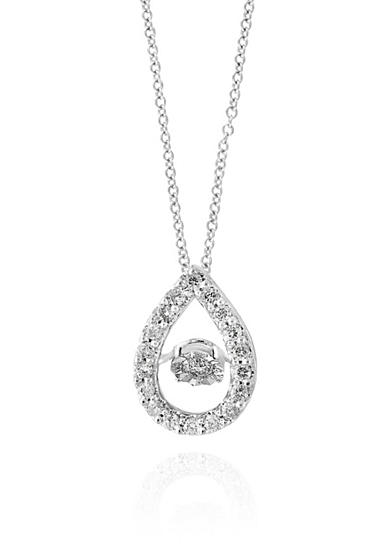 Effy® 0.18 ct. t.w. Diamond Pendant Necklace in 14K White Gold