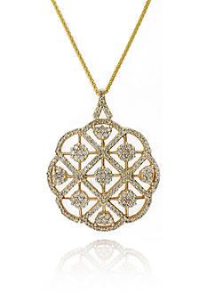 Effy Diamond Pendant Necklace in 14K Yellow Gold