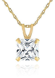 Belk & Co. Cubic Zirconia in 14K Yellow Gold