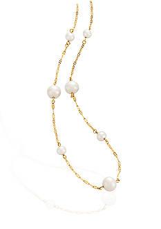 Belk & Co. Pearl Pendant in 14K Yellow Gold