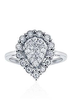 Belk & Co. .505 ct. t.w. Diamond Ring in 10K White Gold