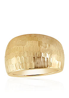 Belk & Co. Dome Ring in 10k Yellow Gold