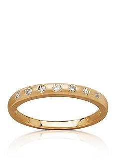 Belk & Co. 0.101 ct. t.w. Diamond Band in 10k Yellow Gold