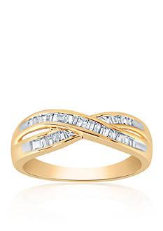 Belk & Co. 0.32 ct. t.w. Diamond Ring in 10K Yellow Gold