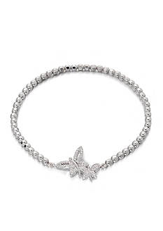 Belk & Co. 0.056 ct. t.w. Diamond Dragonfly Bracelet in Sterling Silver