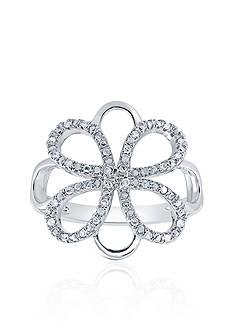 Belk & Co. 0.10 ct. t.w. Diamond Ring in Sterling Silver