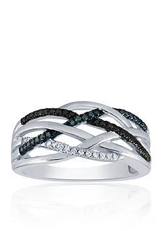 Belk & Co. 0.20 ct. t.w. Diamond Band in Sterling Silver