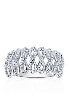 Belk & Co. 0.22 ct. t.w. Diamond Band in Sterling Silver