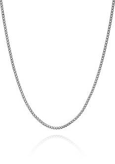 Belk & Co. Sterling Silver Curb Chain Necklace
