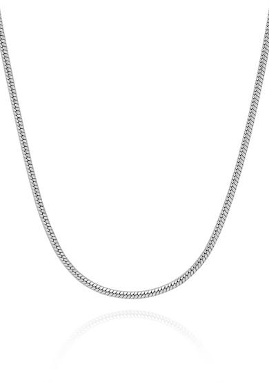 Belk & Co. Sterling Silver Snake Chain Necklace