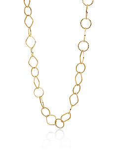 Belk & Co. 10K Yellow Gold Diamond Cut Necklace