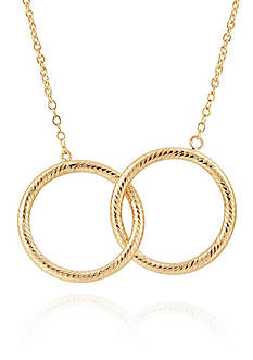 Belk & Co. Necklace in 10K Yellow Gold
