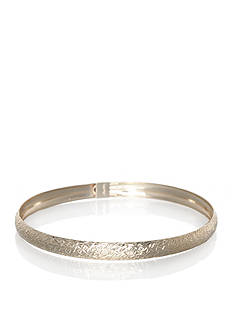Belk & Co. Bangle in 10K Yellow Gold