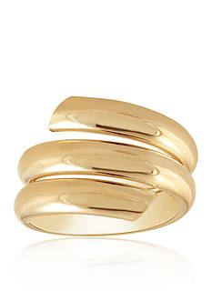 Belk & Co. Bypass Ring in 10k Yellow Gold