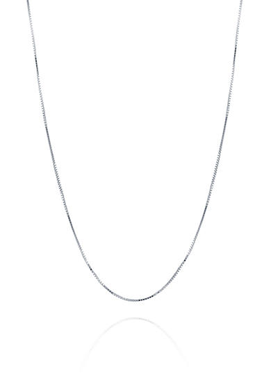 Belk & Co. Chain Necklace in 14K White Gold