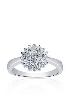 Belk & Co. 0.50 ct. t.w. Diamond Ring in 10K White Gold