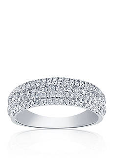 Belk & Co. 0.88 ct. t.w. Diamond Band in 14k White Gold