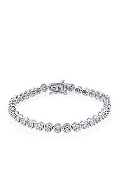 Belk & Co. 1.5 ct. t.w. Diamond Tennis Bracelet in 14K White Gold