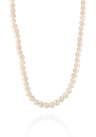 Belk & Co. Freshwater Pearl Strand Necklace